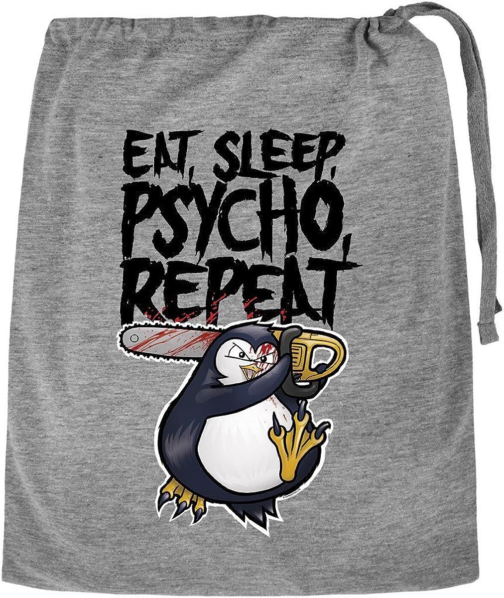 Psycho Sleep Psycho Penguin Pyjama Set Eat Repeat Short In Bag Women/'s White