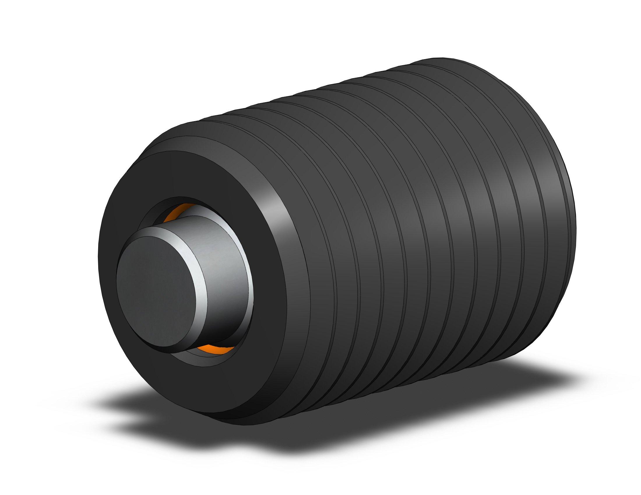 Fairlane TBU-1108X2-S Threaded Design Swivot – 1-8 X 2 – Flat