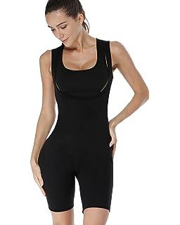8c4cd7319 RIBIKA Sweat Suit Sauna Women Shapewear Bodysuits Compression Slimming Body  Shaper
