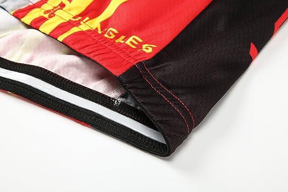 S~5XL,Option:bib,3D pad N202 JUNGLEST Cycling Jersey Set Women Long Sleeve