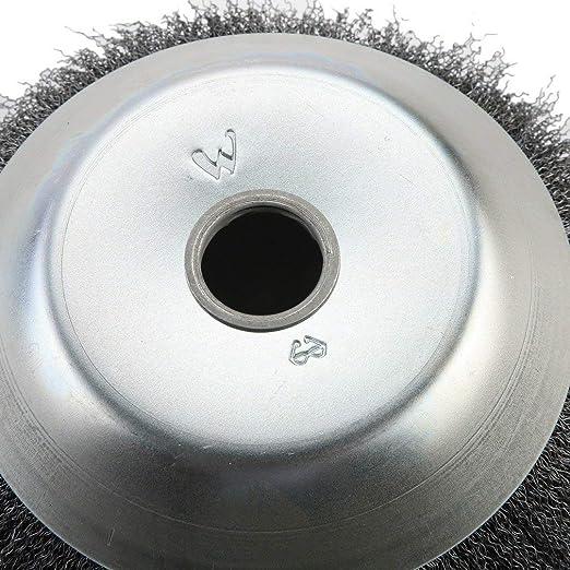 Rundb Bujías para motor Sense 200 x 25,4 mm kinshops malas hierbas Cepillo Ratioparts Cepillo Cepillo para juntas wildkrautb Bujías Well alambre suave: ...