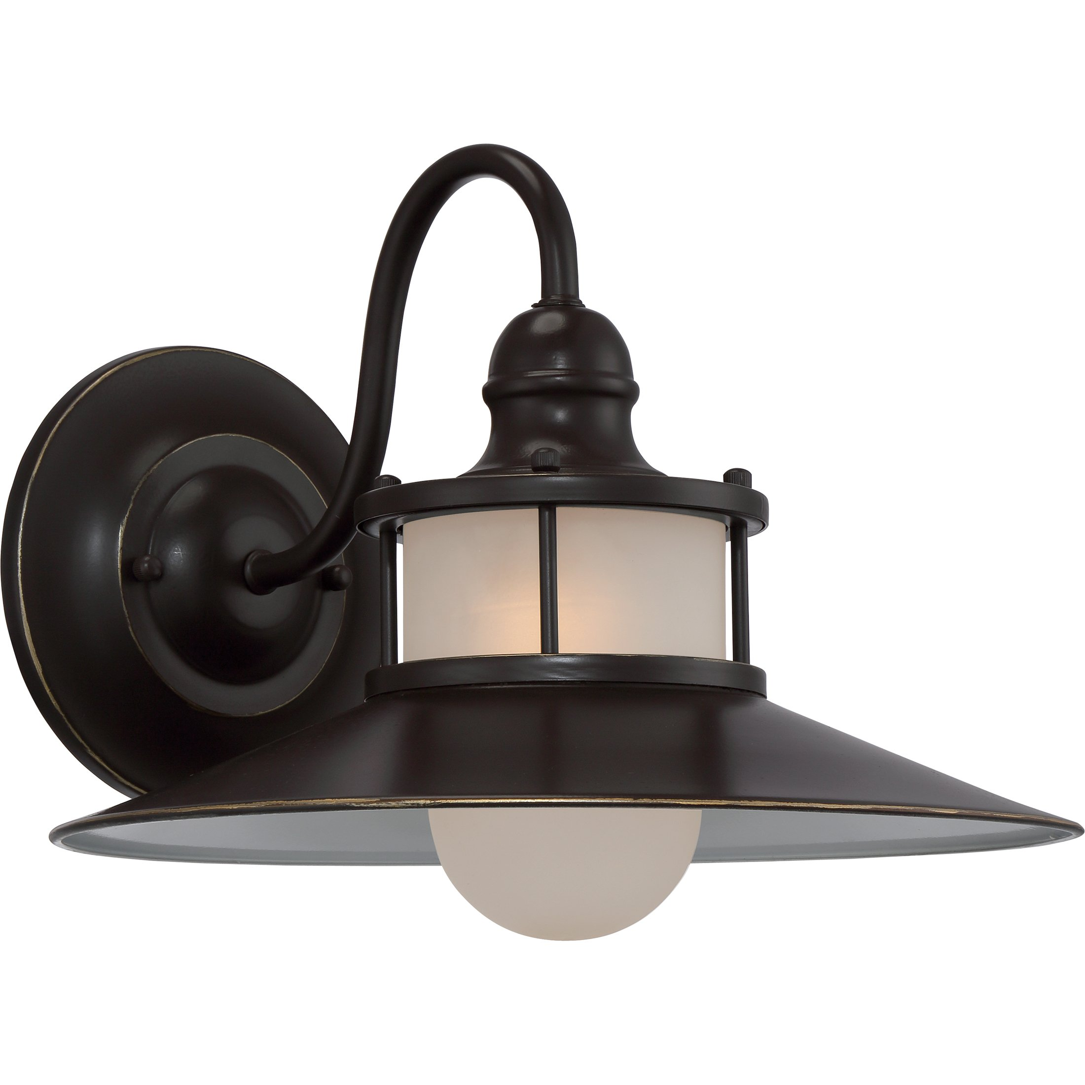 Quoizel NA8414PN One Light Outdoor Wall Lantern