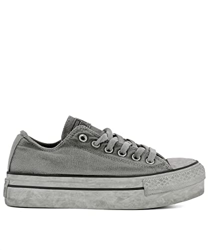 9cd7454b05c9 Converse Women s 558452C Grey Fabric Sneakers  Amazon.co.uk  Shoes ...