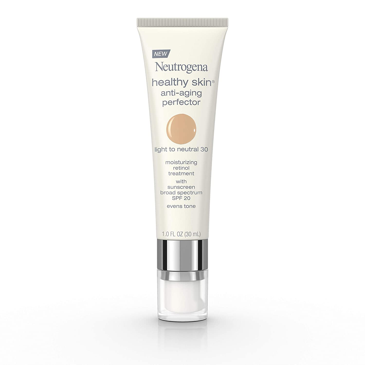 Neutrogena Healthy Skin Anti-Aging Perfector Tinted Facial Moisturizer and Retinol Treatment