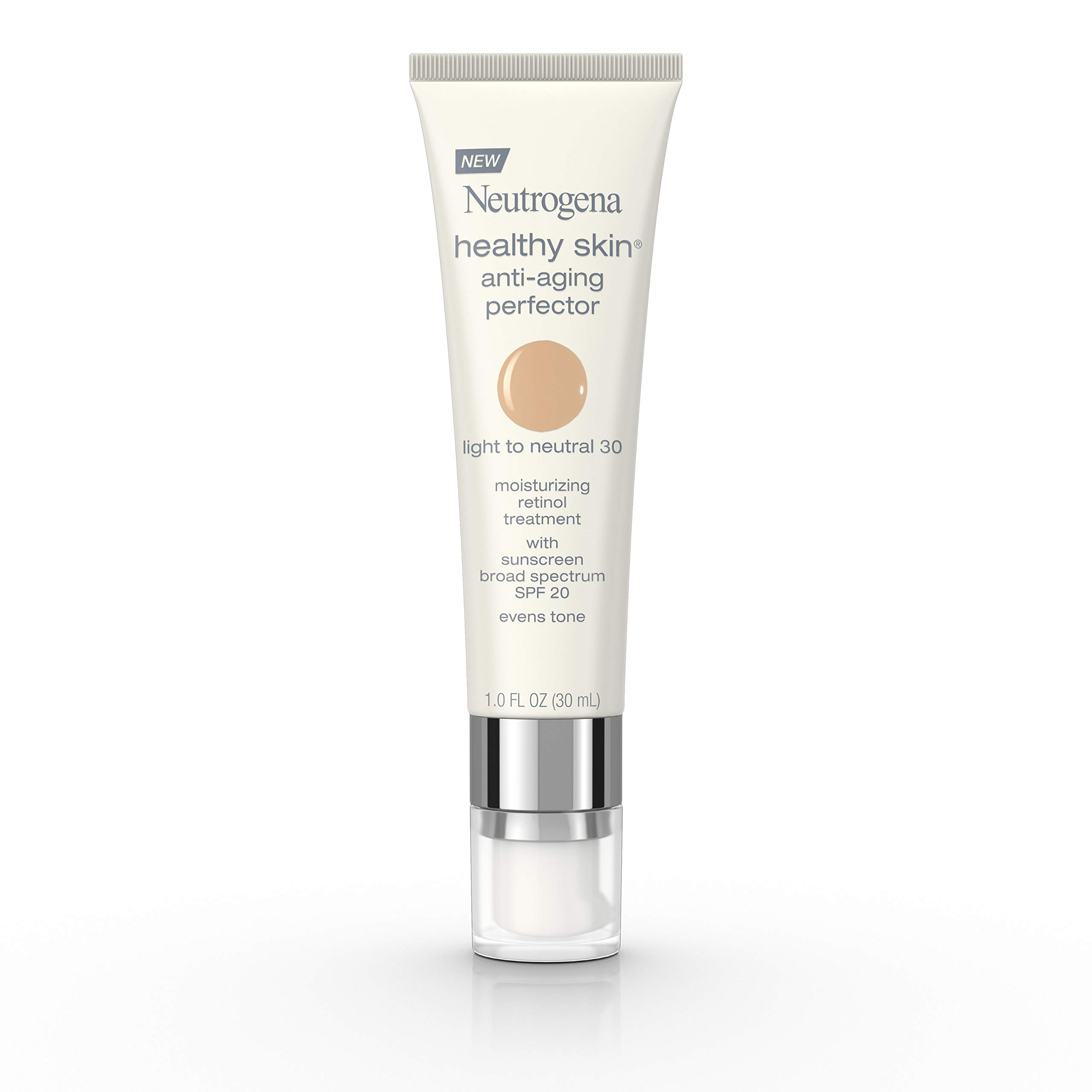 Neutrogena Healthy Skin Anti-Aging Perfector Spf 20, Retinol Treatment, 30 Light To Neutral, 1 Fl. Oz. by Neutrogena