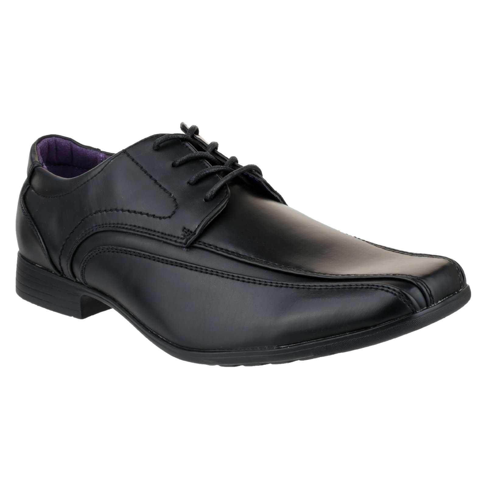 US Brass Hauser Mens Lace up Shoes (10 US) (Black)
