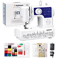Kylinton Sewing Machine for Beginners Mini Sewing Machine for Kids, Electric Small Sewing Machine with Foot Pedal, 12…