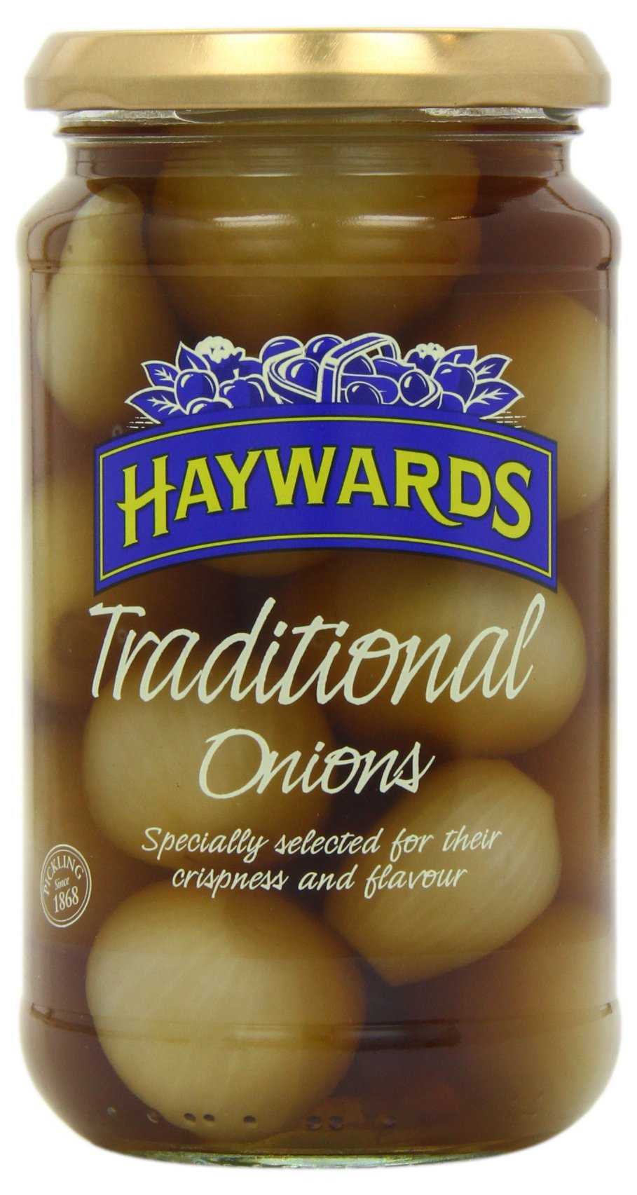 Haywards Traditional Onions 454 G (Pack Of 6) by Hayward's