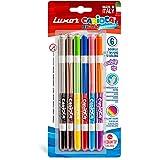 Luxor Carioca Bi-Color_Conical_Dual Felt Tip Color 6
