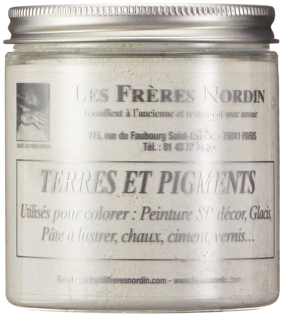 Die Brü der Nordin 418256 Erde Pigment weiß -Titan Les frères Nordin