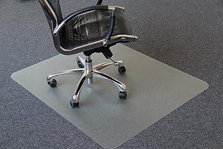 Bodenschutzmatte Bodenschutz Büro Stuhl Unterlage Boden Matte PVC Transparent KR