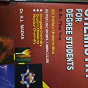 Buy Chemistry for Degree Students (First Year) Book Online at Low