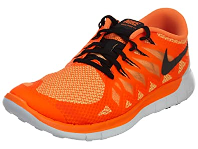 NIKE Chaussure de running NIKE Free 5.0 pour Homme - Orange ...