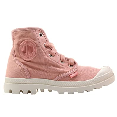 0a76adf7555 Palladium Women's Pampa Hi Canvas Combat Boots: Amazon.co.uk: Shoes ...