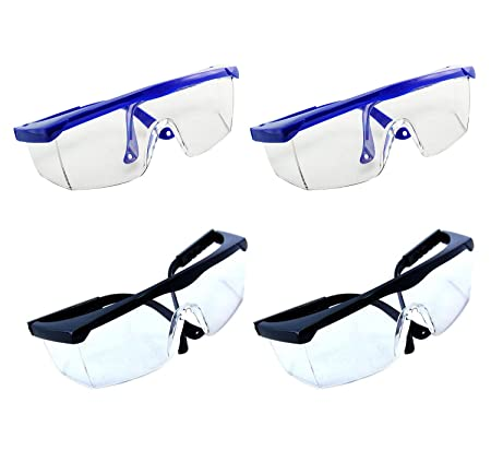 4407bba6e58 Wommty Safety Goggle Dental Protective Eye Goggles Safety Glasses Chemical  Splash and Impact Resistant Goggle Clear. Roll over image to zoom in