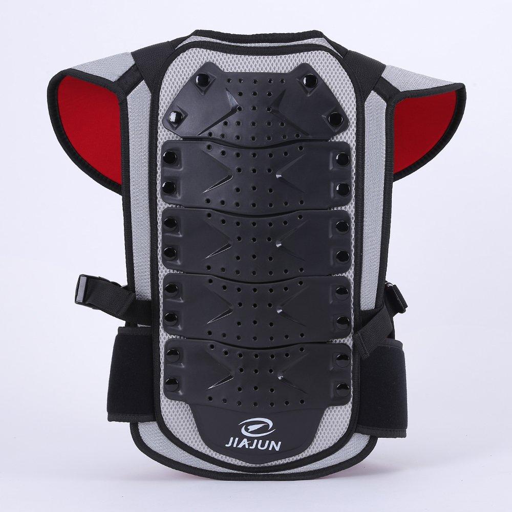 JIAJUN Childrens Motorcycle Body Armor Street Bike Chest Protect Off Road Bike Cycling Skiing Riding Skateboarding