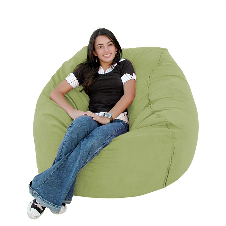 Cozy Sack 3-Feet Bean Bag Chair, Medium, Lime