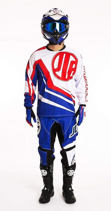 Traje Moto Cross Quad para BTT MTB BMX JLP Racing Azul ...