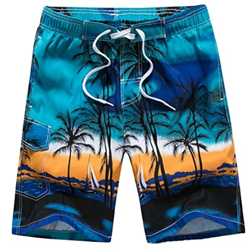 LerBen® New Men's Summer Holiday Beach Shorts Swimming Trunks Surfing Boardshorts plus size with Mesh Lining