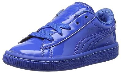 puma basket classic patent sneaker