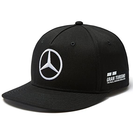 Mercedes AMG F1 Team Driver Puma Hamilton Flat Peak Gorra