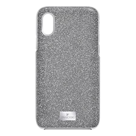 10063a8cf Swarovski High iPhone X Silver Phone Case 5393906: Amazon.co.uk: Electronics