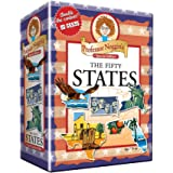 Outset Media - Professor Noggin's 50 States - Educational US History Card Game - Special Edition