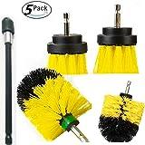 5 piezas de diferentes tamaños de accesorios de limpieza, kit de accesorios para brochas con extensor de 15,2 cm…