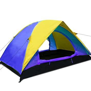 Argus Le Outdoor C&ing Tent - Lightweight Portable Double Tent? 2 Doors 2 Person 4  sc 1 st  Amazon.com & Amazon.com : Argus Le Outdoor Camping Tent - Lightweight Portable ...