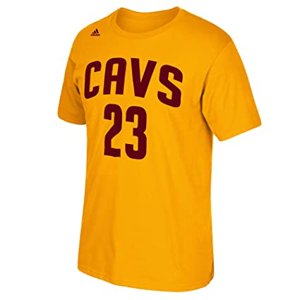 Outerstuff Lebron James Cleveland Cavaliers  23 NBA Youth Name   Number T-Shirt  Gold 563105348