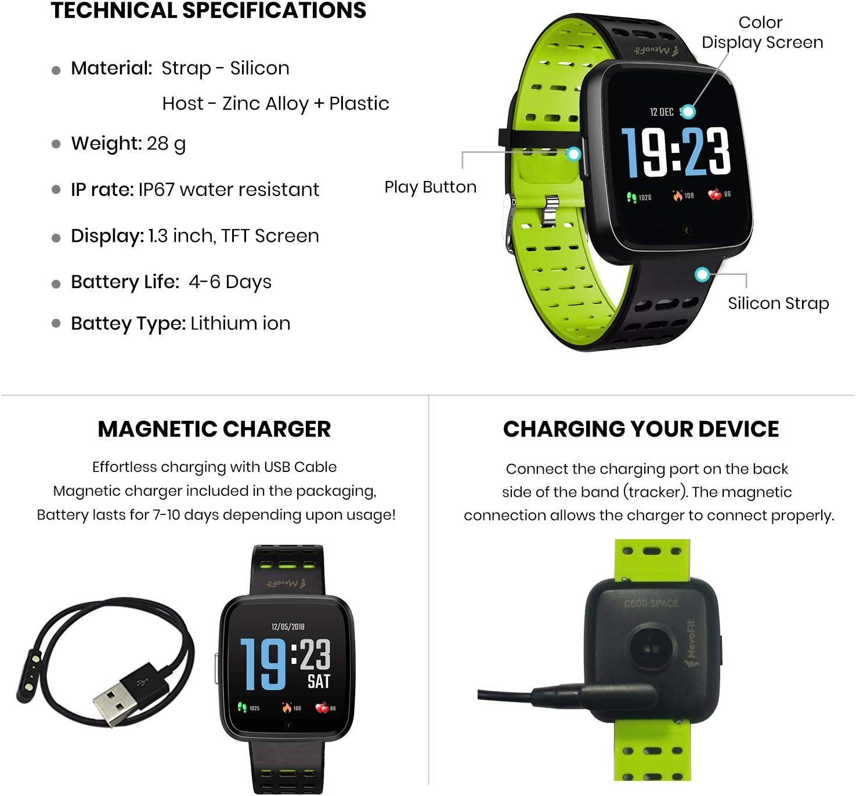 MevoFit Race-Space Smart-Watch for Fitness
