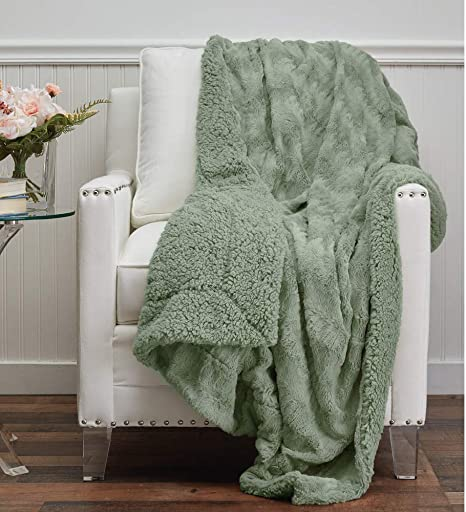 Luxury Sherpa Fleece Throw Blanket Large Warm Super Soft Home Sofa Bed Throw New