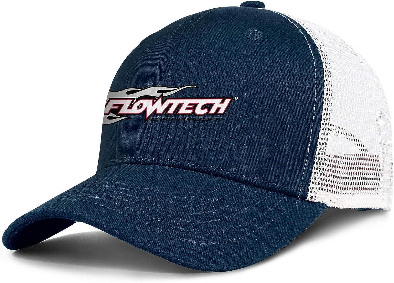 COOLGOOD Details About Flowtech Headers Men Women Mesh Back Baseball Hat Cute Summer Hats