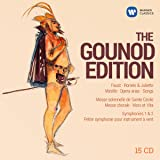 The Gounod Edition - Faust, Romeo & Juliette, Mirelle, Opera arias, Songs Symphonies and choral works