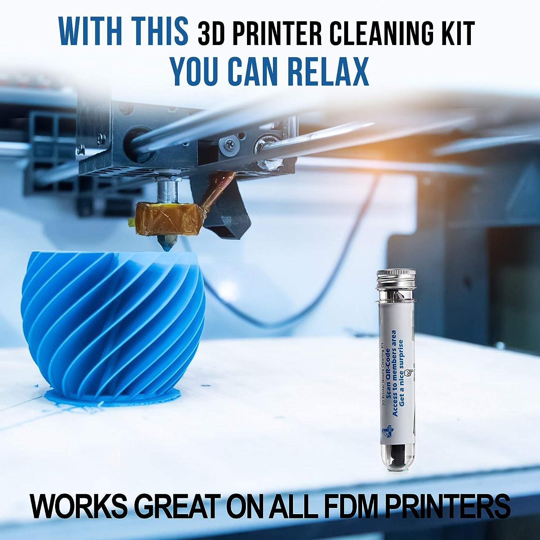 TwiceForPrice Kit de limpieza de boquilla de impresora 3D (35 ...
