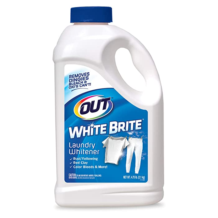 OUT White Brite Laundry Whitener, 4 lb. 12 oz. Bottle
