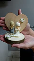 precious moments rustic wedding cake topper precious moments wedding cake toppers by 18713