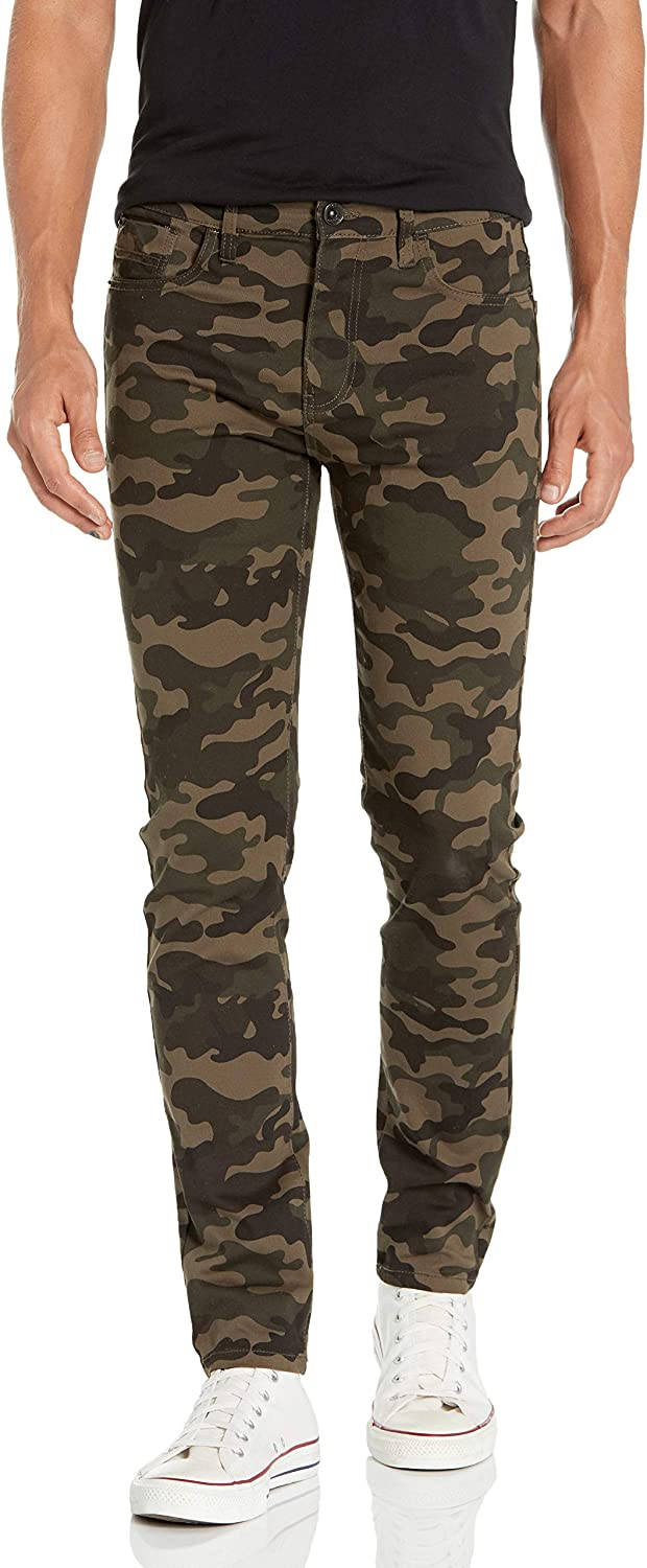 Popular overseas Southpole Men's Popular products Skinny Twill Pants