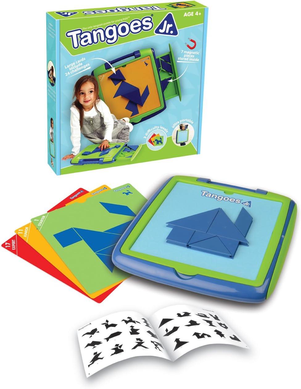 SmartGames Tangoes Jr. - Juegos educativos (Multicolor, Child, Niño/niña, 4 año(s), 120 Pieza(s), 61 mm): Amazon.es: Juguetes y juegos