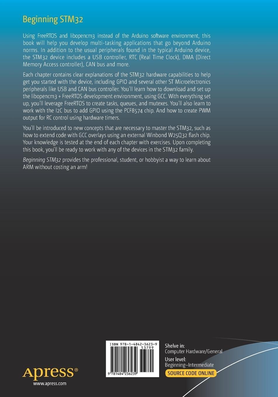 Amazon com: Beginning STM32: Developing with FreeRTOS