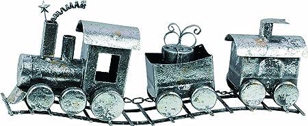 Transpac 15 Metal Silver Train
