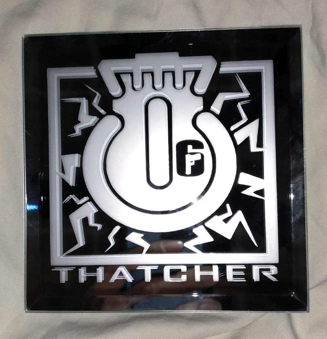 Rainbow Six Siege Thatcher Limited Edition Logo Mirror