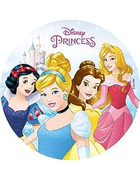 COOLMP - Lote de 3 Discos de almidón Disney Princesas 18,5 ...