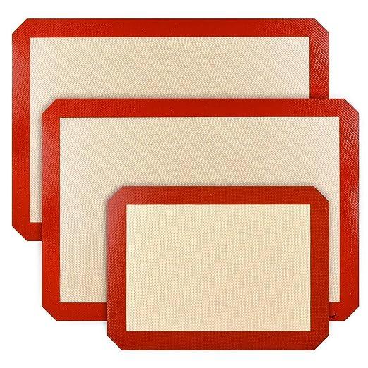 Estera antiadherente de silicona para hornear anti Estuche ...