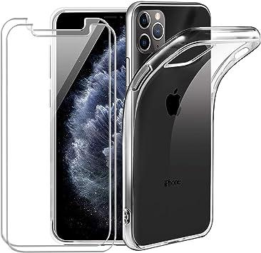 jrester Funda para iPhone 11 Pro MAX, Clear Transparente Silicona ...