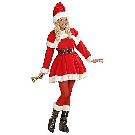 Babbo Natale Femmina Immagini.Costume Babbo Natale Donna Babba Super Lusso Mamma