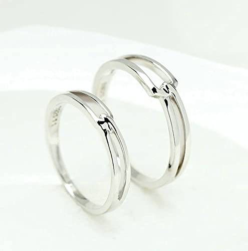 Amazon Com Mens Boys Silver Plated Elegant Wedding Bands Promise
