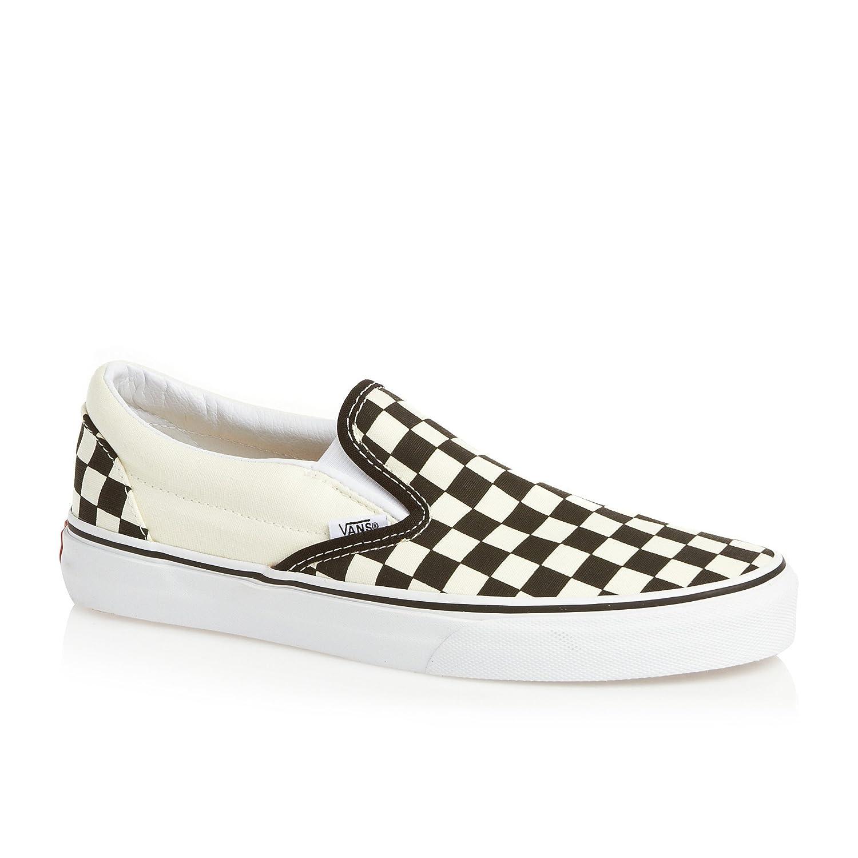 Vans Classic Slip-On VEYEBWW - Zapatillas clásicas de tela unisex 42 EU|Blanco