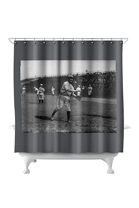 Cozy Dolan NY Highlanders Yankees Baseball Photo 1 71x74 Polyester