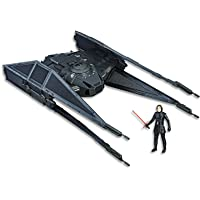 "STAR WARS - Kylo Ren 3.75"" Figure & TIE Silencer action figure - The Last Jedi - Force Link compatible - Kids Toys - Ages 4+"